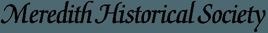 Meredith Historical Society Logo